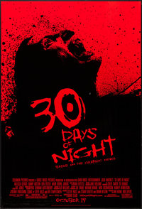 """30 Days of Night (Columbia, 2007). One Sheet (26.75"""" X 39.75"""") DS Advance. Horror"""