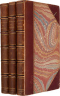 Books:Literature Pre-1900, [Edward Bulwer-Lytton]. The Last Days of Pompeii. London:Richard Bentley, 1834. First edition.. ... (Total: 3 Items)