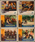 "Movie Posters:Exploitation, Motorcycle Gang & Others Lot (American International, 1957).Lobby Cards (10) (11"" X 14""). Exploitation.. ... (Total: 10 Items)"