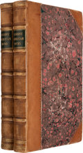 Books:Literature Pre-1900, Charles Dickens. American Notes for General Circulation.London: Chapman and Hall, 1842. First edition, first state....(Total: 2 Items)