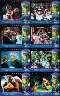 "How the Grinch Stole Christmas (Universal, 2000). Lobby Card Set of 8 (11"" X 14""). Family. ... (Total: 8 Items..."
