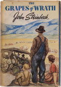 Books:Literature 1900-up, John Steinbeck. The Grapes of Wrath. New York: The VikingPress, [1939]. First edition. Octavo. [vi], 619, [3, b...