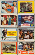 "Movie Posters:Adventure, Treasure Island & Others Lot (RKO, 1950). Lobby Cards (21)& title Lobby Card (11"" X 14""). Adventure.. ... (Total: 22Items)"