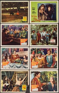 "Tyrone Power in Prince of Foxes & Others Lot (20th Century Fox, 1949). Lobby Cards (8) (11"" X 14""). Advent..."
