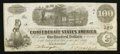 Confederate Notes:1862 Issues, T40 $100 1862 PF-8 Cr. Unlisted.. ...