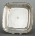 Silver Holloware, American:Bowls, A TIFFANY & CO. SILVER RECTANGULAR DISH. Tiffany & Co., NewYork, New York, circa 1926-1927. Marks: TIFFANY & CO.,STERLIN...