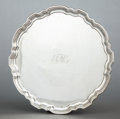 Silver Holloware, American:Trays, A TIFFANY & CO. SILVER TRAY . Tiffany & Co., New York, NewYork, circa 1947-1956. Marks: TIFFANY & CO., STERLINGSILVER, 2...