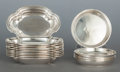 Silver & Vertu:Hollowware, FIFTEEN TIFFANY & CO. SILVER NUT DISHES. Tiffany & Co., New York, New York, circa 1925-1926; 1929-1930. Marks: TIFFANY & C... (Total: 15 Items)