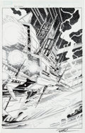 Original Comic Art:Splash Pages, Paul Pelletier and Rick Magyar Guardians of the Galaxy #1Splash Page 7 Original Art (Marvel, 2008)....