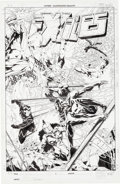 Original Comic Art:Covers, Jim Calafiore Exiles #77 Cover Original Art (Marvel,2006)....
