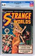 Golden Age (1938-1955):Science Fiction, Strange Worlds #4 (Avon, 1951) CGC FN 6.0 Off-white to whitepages....
