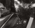 Photographs, ABELARDO MORELL (Cuban, b. 1948). Two Books of Astronomy, 1996. Gelatin silver. 17-5/8 x 22 inches (44.8 x 55.9 cm). Sig...