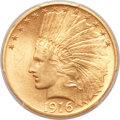 Indian Eagles, 1916-S $10 MS62 PCGS....