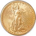Saint-Gaudens Double Eagles, 1927-S $20 -- Cleaning -- PCGS Genuine. Unc. Details....
