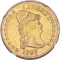 Early Eagles, 1797 $10 Large Eagle -- Graffiti Removed -- NGC Details. AU. BD-2,High R.4....