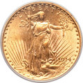 Saint-Gaudens Double Eagles, 1914 $20 MS63 PCGS....