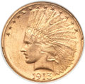 Indian Eagles, 1913-S $10 MS61 NGC....