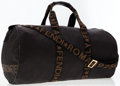 Luxury Accessories:Travel/Trunks, Fendi Black Nylon Weekend Travel Bag with Fendi Logo Accents. ...