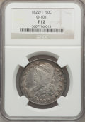 Bust Half Dollars: , 1822/1 50C Fine 12 NGC. O-101. NGC Census: (1/90). PCGS Population(1/112). Numismedia Wsl. Price for problem free NGC/PC...