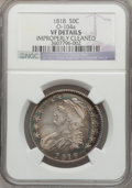 Bust Half Dollars: , 1818 50C -- Improperly Cleaned -- NGC Details. VF. O-104a. NGCCensus: (15/731). PCGS Population (23/726). Mintage: 1,960,...