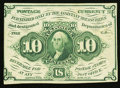 Fractional Currency:First Issue, Fr. 1242 10¢ First Issue About New.. ...