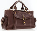 Luxury Accessories:Bags, Celine Brown Leather Boogie Bag with Gold Hardware. ...