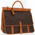 Luxury Accessories:Travel/Trunks, Louis Vuitton Classic Monogram Canvas Large Portfolio Bag withShoulder Strap. ...