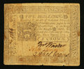 Colonial Notes:Pennsylvania, Pennsylvania October 25, 1775 5s Very Fine.. ...