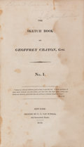 Books:Literature Pre-1900, [Washington Irving]. The Sketch Book of Geoffrey Crayon,Gent. New York: C. S. Van Winkle, 1819-1820. Early mixe...(Total: 2 Items)