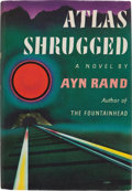 Books:Literature 1900-up, Ayn Rand. Atlas Shrugged. New York: Random House, [1957].First edition, first printing and in the first state d...