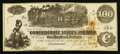 Confederate Notes:1862 Issues, T39 $100 1862 PF-7 Cr. 292.. ...