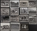 Football Collectibles:Photos, 1930's-40's Green Bay Packers Original Press Photographs Lot of15....