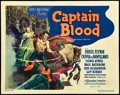 """Movie Posters:Adventure, Captain Blood (Warner Brothers, 1935). Title Lobby Card (11"""" X 14""""). Adventure.. ..."""