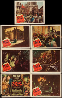 """Faust and the Devil (Columbia, 1950). Title Lobby Card & Lobby Cards (6) (11"""" X 14""""). Musical. ... (Total:..."""