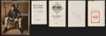 Baseball Collectibles:Publications, Baseball Greats Signed Hardcover Books Lot of 5....
