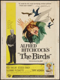"""Movie Posters:Hitchcock, The Birds (Universal, 1963). Poster (30"""" X 40""""). Hitchcock.. ..."""