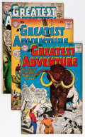 Silver Age (1956-1969):Adventure, My Greatest Adventure Group (DC, 1960-63) Condition: Average VG.... (Total: 16 Comic Books)