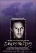 """Movie Posters:Western, Dances with Wolves (Orion, 1990). One Sheets (2) (27"""" X 40"""") DSRegular & Advance. Western.. ... (Total: 2 Items)"""