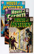 Silver Age (1956-1969):Horror, House of Mystery/House of Secrets Group (DC, 1959-64) Condition:Average VG.... (Total: 21 Comic Books)