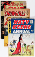 Golden Age (1938-1955):Romance, Golden and Silver Age Romance Group (Various Publishers, 1950s-60s) Condition: Average GD+.... (Total: 28 Comic Books)
