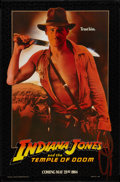 """Movie Posters:Adventure, Indiana Jones and the Temple of Doom (Paramount, 1984). One Sheet(27"""" X 41"""") Advance. Adventure.. ..."""