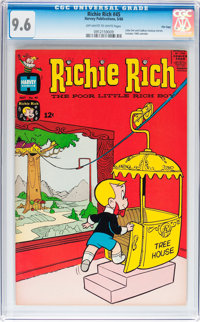 Richie Rich #45 File Copy (Harvey, 1966) CGC NM+ 9.6 Off-white to white pages
