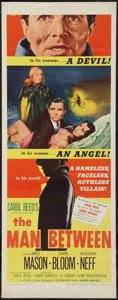"Movie Posters:Thriller, The Man Between (United Artists, 1953). Insert (14"" X 36""). Thriller.. ..."