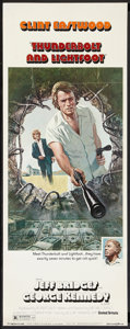 "Movie Posters:Crime, Thunderbolt and Lightfoot (United Artists, 1974). Insert (14"" X36""). Crime.. ..."
