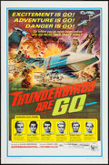 "Movie Posters:Science Fiction, Thunderbirds Are Go (United Artists, 1968). One Sheet (27"" X 41"").Science Fiction.. ..."