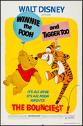 "Movie Posters:Animation, Winnie the Pooh and Tigger Too! (Buena Vista, 1974). One Sheet (27""X 41""). Animation.. ..."