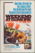 "Movie Posters:War, Weekend at Dunkirk (20th Century Fox, 1966). Poster (40"" X 60"").War.. ..."