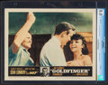"Movie Posters:James Bond, Goldfinger (United Artists, 1964). CGC Graded Lobby Card (11"" X 14""). James Bond.. ..."