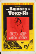 "Movie Posters:War, The Bridges at Toko-Ri & Others Lot (Paramount, R-1959). OneSheets (2) (27"" X 41"") & Trimmed Lobby Card (10"" X 12.5"").War.... (Total: 3 Items)"
