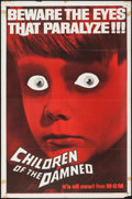 "Movie Posters:Science Fiction, Children of the Damned (MGM, 1963). One Sheet (27"" X 41""). Science Fiction.. ..."